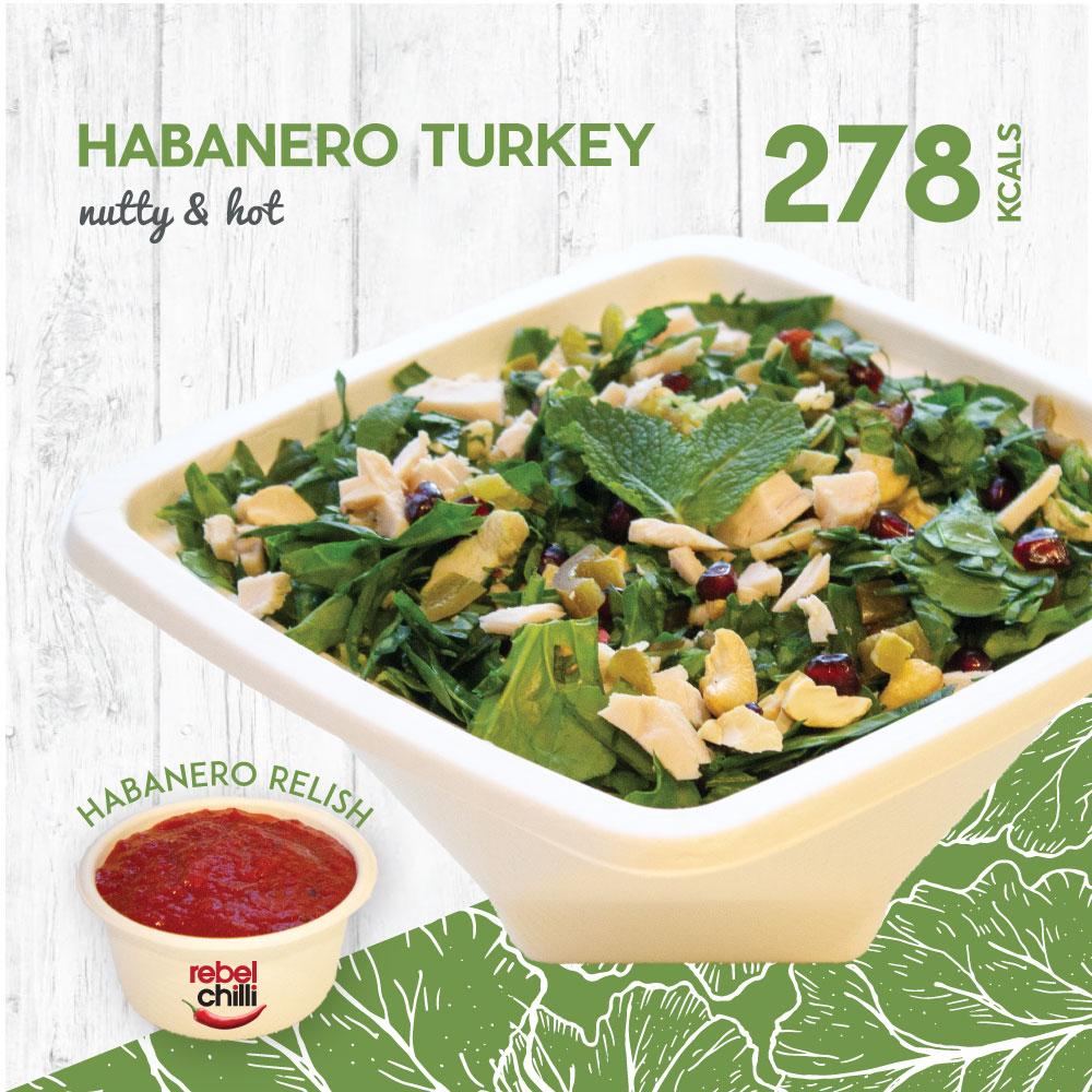 Chopped_Low cal Habanero Turkey
