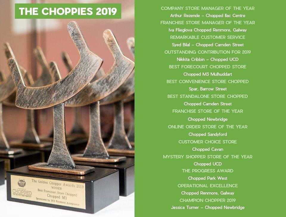 Choppies Shortlist Names